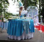 Голубая леди фуршет